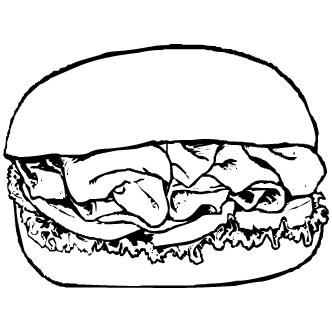 Vector de Hamburguesas