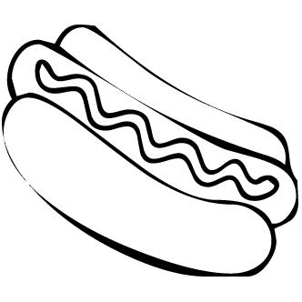 Vector de Hot Dog