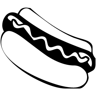 Vector de Hot Dog