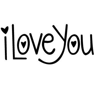 Vectores de I Love You
