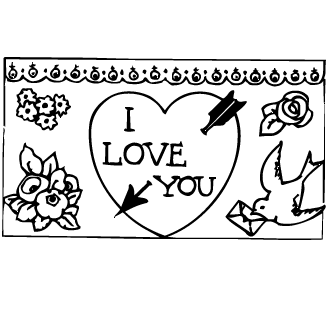 Vector de I Love You