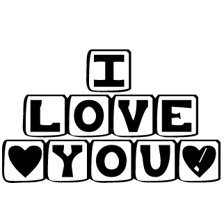 Vector de I Love You