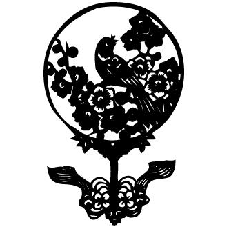 Vector de Aves Chinas