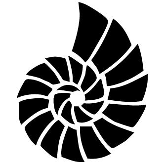 Vector de Caracol Marino