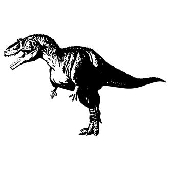 Vectores de Tiranosaurio Rex
