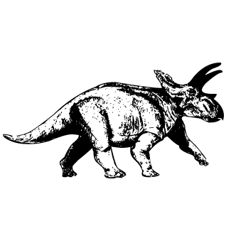 Vector de Triceratops