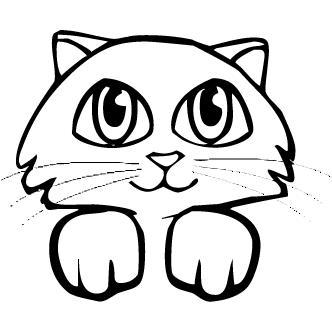 Vectores de Caras De Gatos