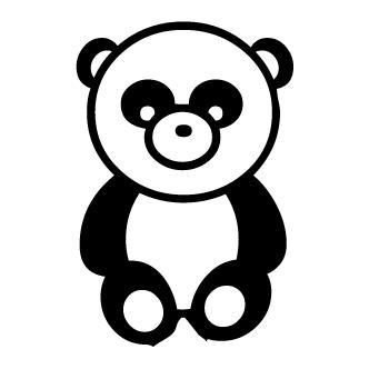 Vectores de Oso Panda