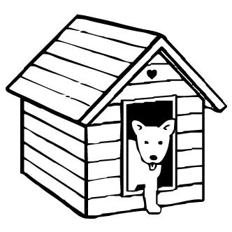 Vectores de Casa De Perro