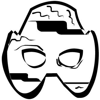 Vector de Antifaz