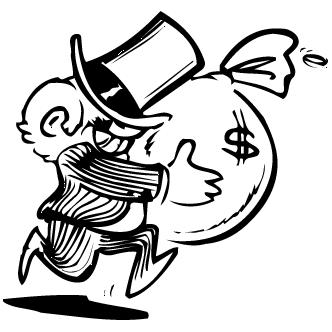 Vector de Bolsas De Dinero