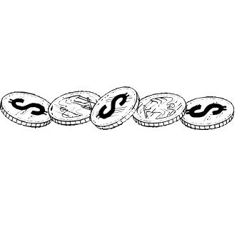 Vector de Monedas
