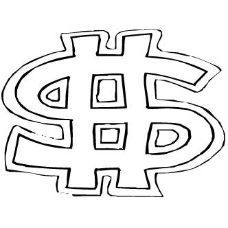 Vector de Simbolo Peso