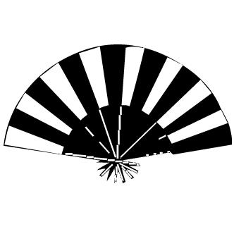 Vector de Abanico