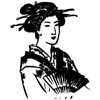 Vector de Geisha