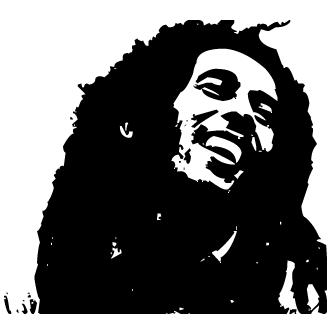 Vector de Bob Marley