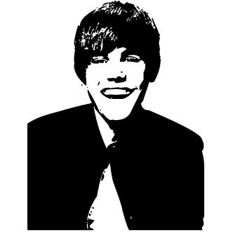Vector de Justin Bieber