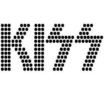 Vector de Letras Kiss