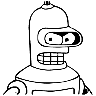 Vector de Futurama