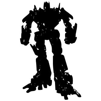 Vector de Robot Cine