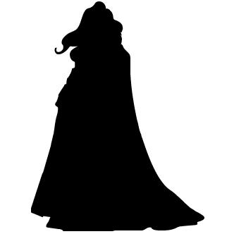 Vector de Silueta Super Mujer