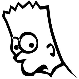 Vector de Bart Simpsons