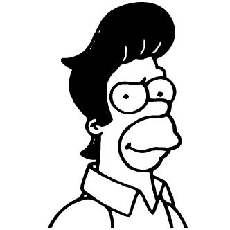 Vectores de Homero Simp