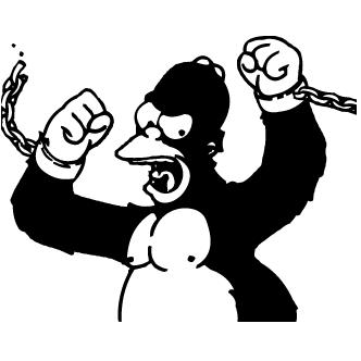 Vector de Homero Simp