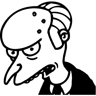 Vectores de Mr.burns