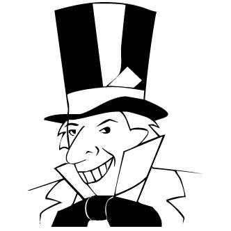 Vector de Pinguino