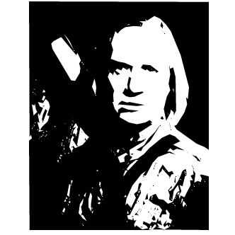 Vector de David Carradine
