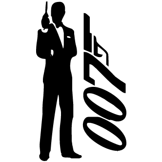 Vectores de James Bond 007