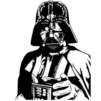 Vector de Darth Vader