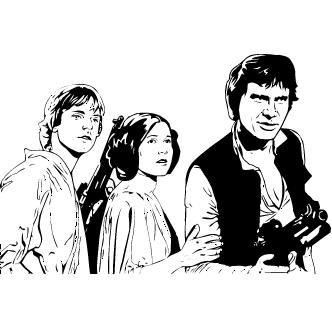 Vector de Han Solo