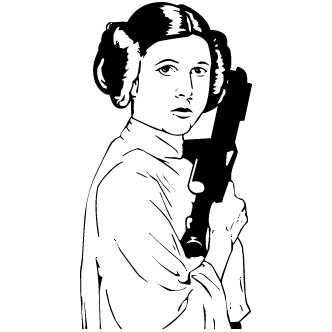 Vector de Leia