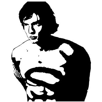 Vector de Super Man