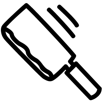 Vector de Cuchillo