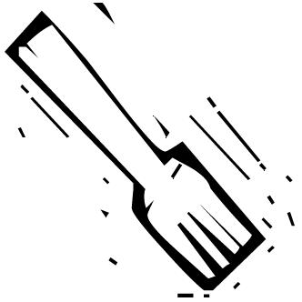 Vector de Tenedor