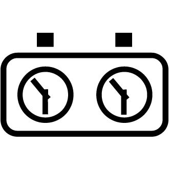 Vector de Reloj Ajedrez
