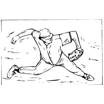 Vector de Beisbol