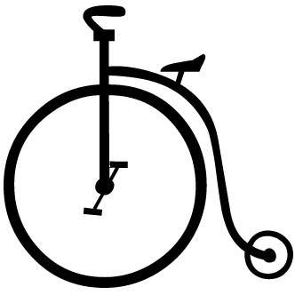 Vectores de Bicicletas Antiguas