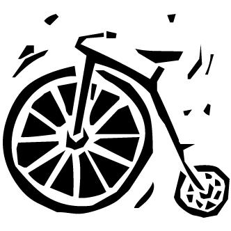 Vector de Bicicletas Antiguas