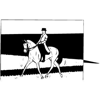 Vector de Equitacion