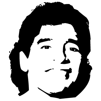 Vectores de Diego Maradona