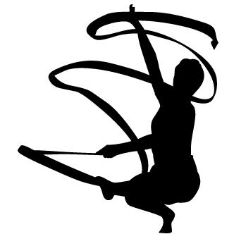 Vectores de gimnasia ritmica y artistica todo vector - Dessin de grs ...