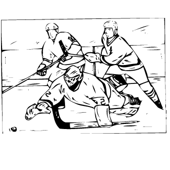 Vector de Hockey