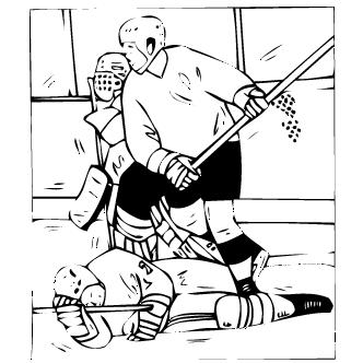 Vector de Hockey