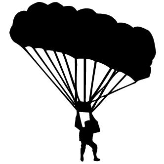 Vectores de Paracaidismo
