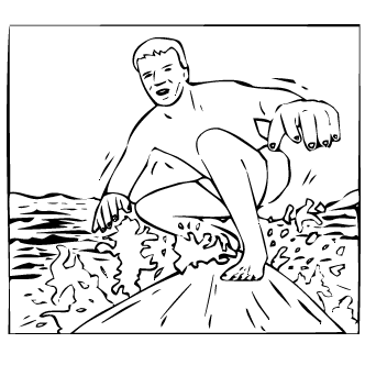 Vector de Surf