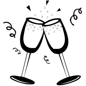 Vectores de champagne copas todo vector for Imagenes de copas brindando